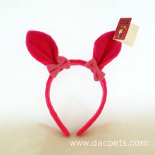 Plush Animal Rabbit Hair Wear For Easter
